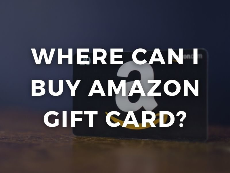 amazon gift card where can i buy