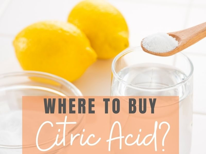 citric acid where to buy